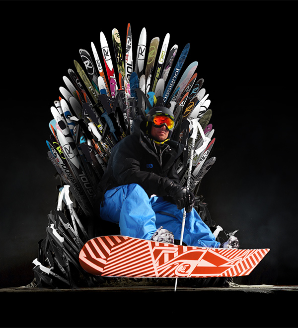UCPA Game of Thrones - Retouche étape 1