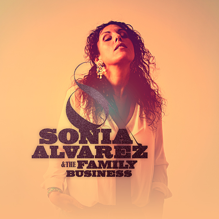 Sonia Alvarez - Album cover proposition 1