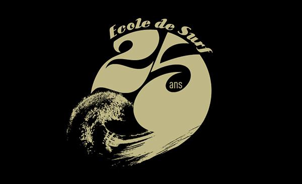 UCPA Logo École de surf 25 ans - Final