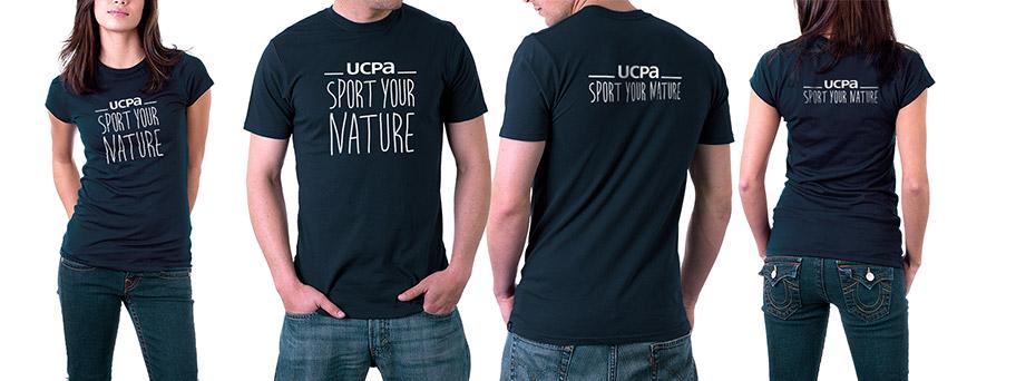 Identité de marque UCPA - T-Shirts des équipes