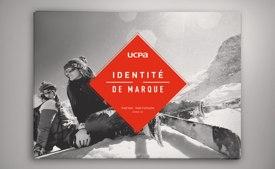 Identité de marque UCPA - Brand book - Charte graphique