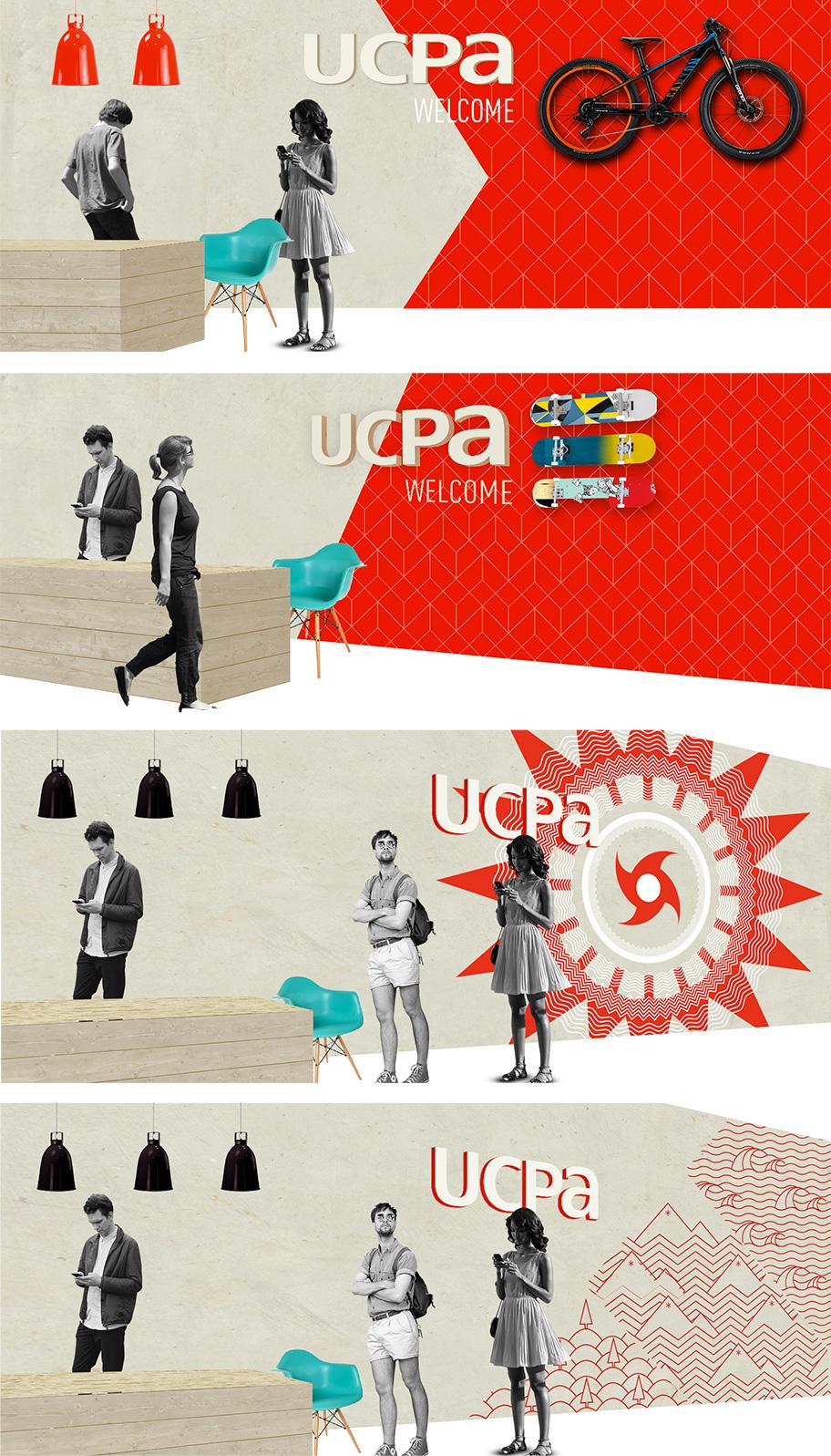 Identité de marque UCPA - Charte architecturale